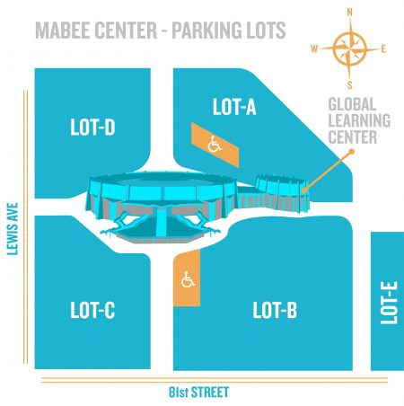 Mabee Center Mabee Center Parking Lots
